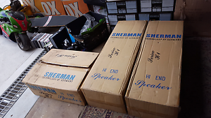 Sherman speakers for unreserved auction Blacktown Blacktown Area Preview