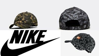 Nike Metal Swoosh Cap Junior boys Baseball Adjustable Running  new CAMO