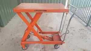 Hydraulic Lifting Table Trolley 500kg Bossley Park Fairfield Area Preview