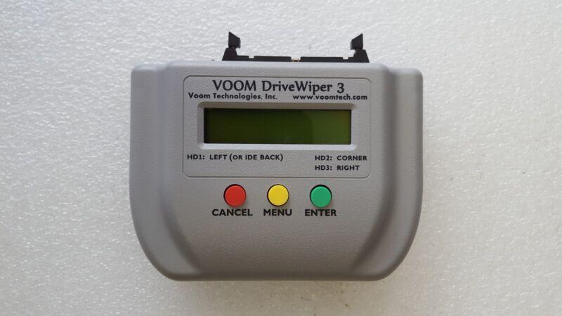 VOOM DriveWiper 3 (NEW) Portable Forensic HDD Disc Duplicator Wiper Sanitizer