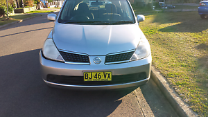 2008 Nissan Tiida ST-L 6 SPD manual Regents Park Auburn Area Preview