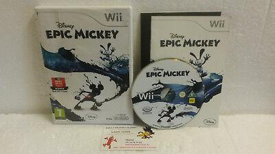 Lot 2 Jeux Vidéo Epic Mickey 1 et 2 Retour des Heros Complet VF Wii U Disney