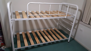 White Bunk Beds - Excellent Condition! Raymond Terrace Port Stephens Area Preview