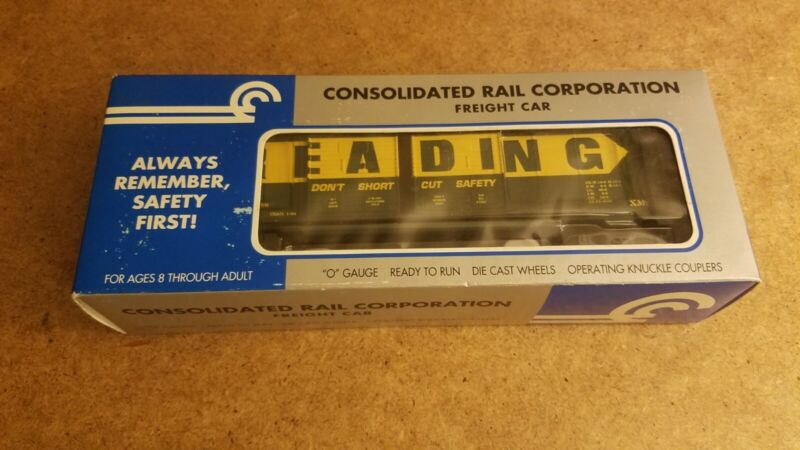 CONSOLIDATED RAIL CORPORATION FREIGHT CAR RDG DOUBLE DOOR BOXCAR #111194