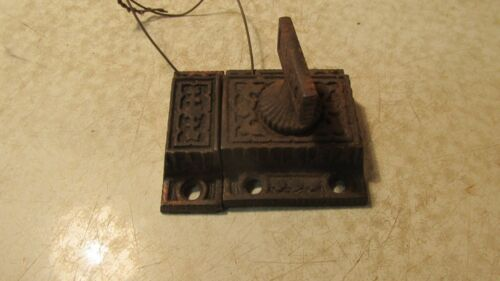 Antique Cast Iron Eastlake Cupboard Latch