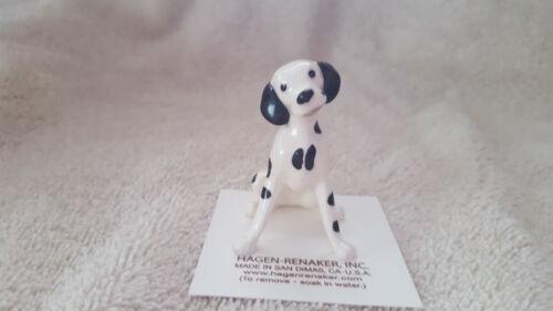 Hagen Renaker Dog Dalmatian Figurine Miniature Collect New Free Shipping 00497