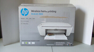 HP DeskJet 2652 Wireless Color Inkjet All-In-One Printer, Scan & Copy