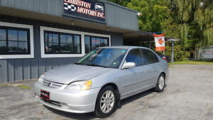2002 Honda CIVIC LX ONLY 148K! SAFETIED ETESTED  $2499+taxes