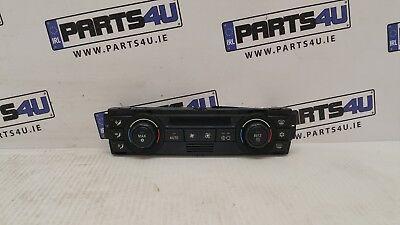 BMW 320I E90 2005 2.0 PETROL 695853601 HEATER CONTROL PANEL A/C SWITCH RHD