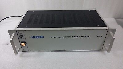 Klinger Md4 Stepping Motor Driver