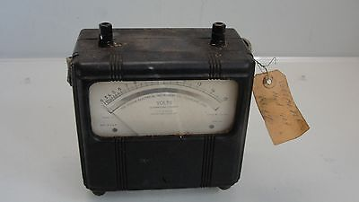 Vintage Hickok Electrical Instrument Co. Voltmeter Model 13 Part 131-138