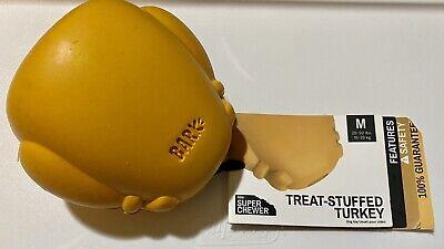 Bark Box Super Chewer Barkbox Turkey Treat Dispensing M- L