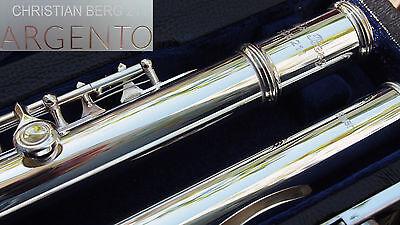 Querflöte Silver Argento  211 Flauta Flauti Flûte traversière en argent