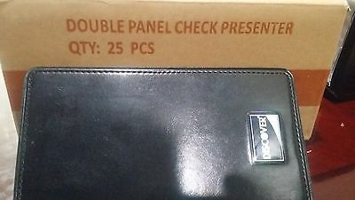 100 Discover Double Panel Restaurant Bill Check Presenterholder Book