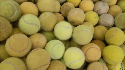 30 USED TENNIS BALLS-BARGAIN