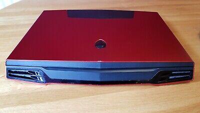 alienware m17x Nebula Red i7 Amd Hd graphics Crucial 500gb SSD + 320gb HDD