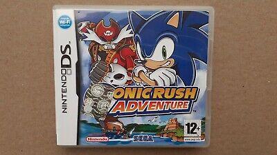 SONIC RUSH ADVENTURE NINTENDO DS 2DS 3DS PAL ITA SOLO CUSTODIA NO GIOCO