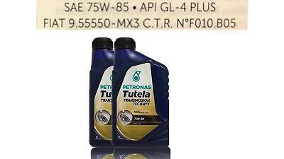 Petronas Tutela Transmission TECHNYX 75W-85 API-GL4 Plus Fiat 9.55550 2 x1 Liter