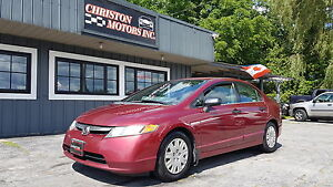 2006 Honda CIVIC 1 OWNER! CERTIFIED ETESTED ONLY  $2999+taxes