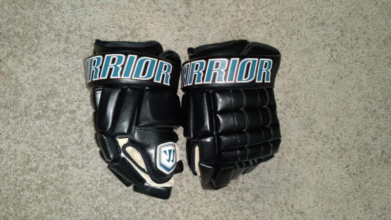 Pro Stock Patrick Marleau San Jose Sharks MIC Warrior Franchise Gloves Hockey 14