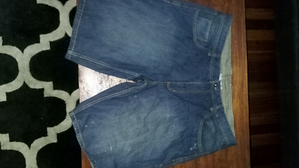 XXL denim shorts