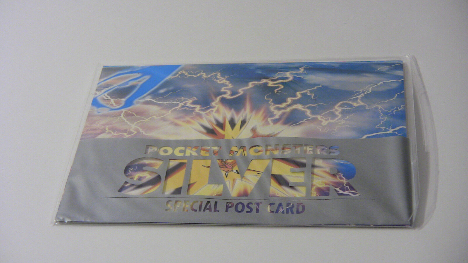 Pokemon Silver Special Post Card Set -1999 5 postcards Japan Exclusive