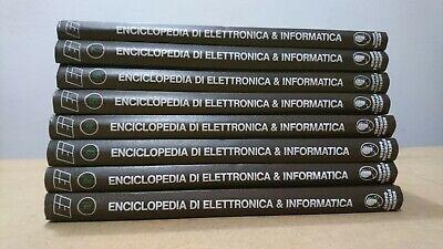 Enciclopedia di elettronica e informatica 8 volumi