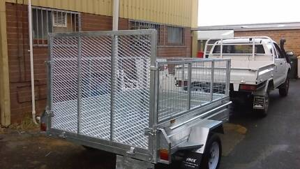 Galvanized Box Trailers 7x5 Cage & Ramp! Brand New at PMX Trailer Willetton Canning Area Preview