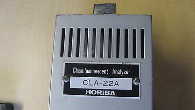 Horiba Cla-22a Chemiluminescent Analyzer - Looks Good But Untested. Local Pickup