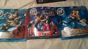 Wwe,ufc and wf wresting action figures