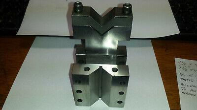 Toolmaker Manufactured V-block Usa