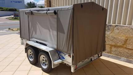 Tandem trailer/ cramping