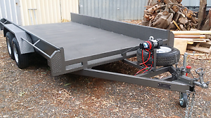 Car Trailer tandem 14 ft x 6.6 As new . Evanston South Gawler Area Preview