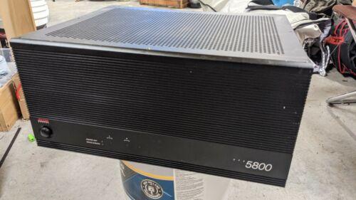 Adcom GFA-5800 250 watts @ 8ohms   400 watts @ 4 ohms. 2 channels.