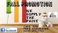 FALL PROMOTION! WE SUPPLY THE STAIN! CALL NOW, FREE ESTIMATE