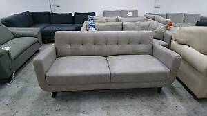 FURG 3 SEATER LEATHER SOFA - HIGH END  FACTORY SECOND Richmond Yarra Area Preview
