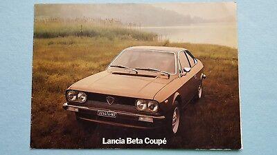 LANCIA beta coupé-FINE ART PRINT-A4-Volumex