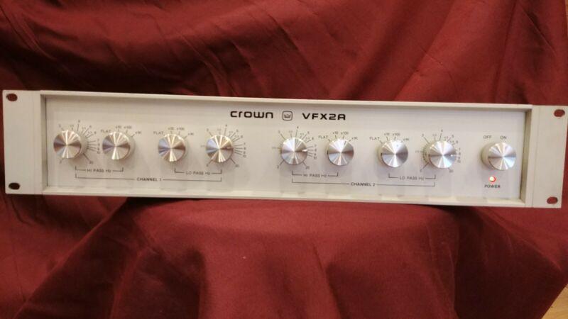 Crown VFX2A 2-way Active Crossover