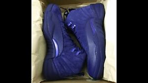 Jordan 12 DS size 8 Royal Blue