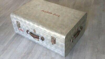 Malle Aviation  aluminium ancienne du réalisateur Alain Pol Chamonix/ (Monte Mall)