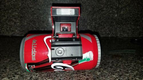 1998 Coca Cola Can Coke Camera 35mm Ginfax film Vintage Collectible Memorabilia