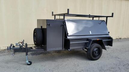 6X4 Tradesman Trailer with Compressor Box - 1.4 ton Narre Warren Casey Area Preview