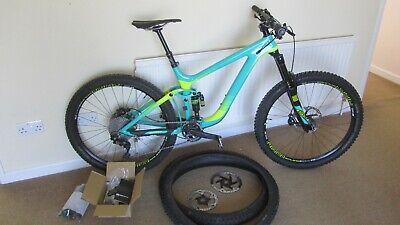 Giant Reign Advanced 1 2016 Enduro All Mountain bike Medium Carbon XT Pike RCT3