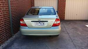2003 Toyota Camry Sedan Ormond Glen Eira Area Preview