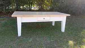 White hampton style coffee table Griffin Pine Rivers Area Preview