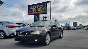 Volvo S80 I6 2007 TECH PACK AWD / AIR / TOIT OUVRANT CUIR