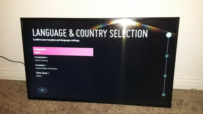 """Lg 43smskc-b 43"""" Digital Signage Monitor Factory Reconditioned"""