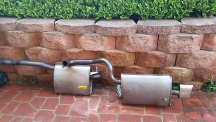 Stock Falcon Fg Xr6 stainless steel cat back exhaust  Regentville Penrith Area Preview