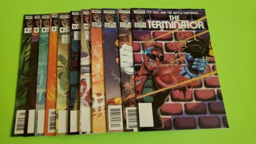 Lot of 11 NOW Comics THE TERMINATOR (1st Series) Between #4 - 17 Nice Condition