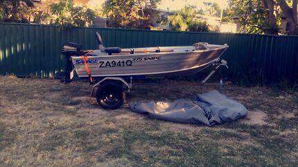 2016 SAVAGE 375 SNIPER BOAT MOTOR &TRAILER